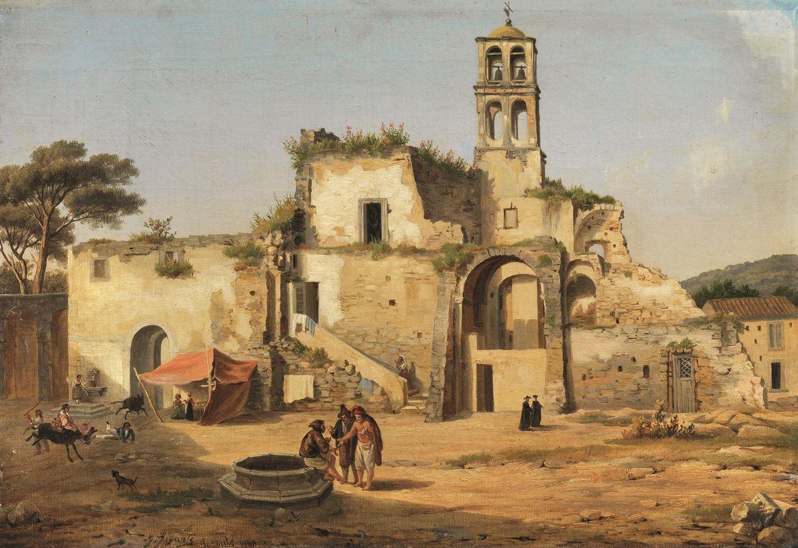 Giacinto Gigante - Sorrento 1840