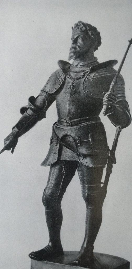 Vincenzo Gemito Modello per la statua di Carlo V in bronzo