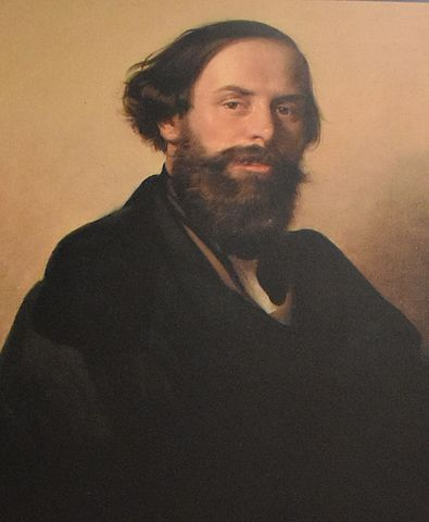 Ippolito Caffi autoritratto 1840