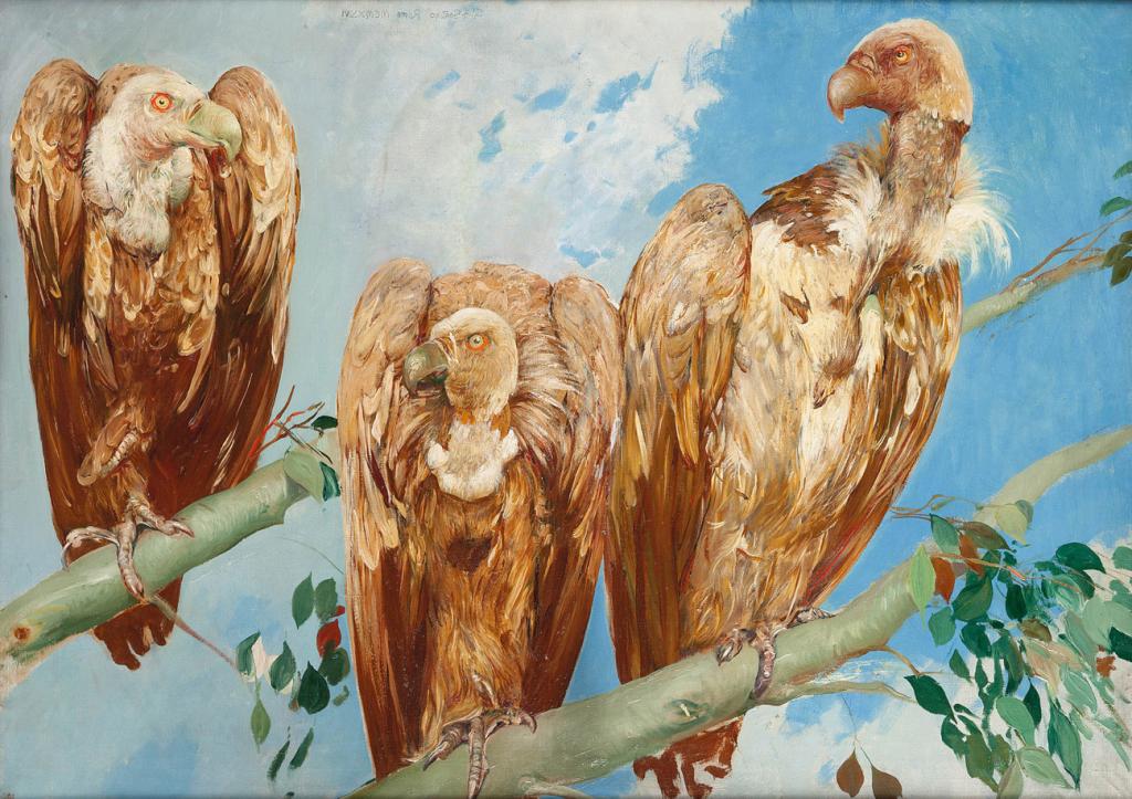 Giulio Aristide Sartorio Avvoltoi