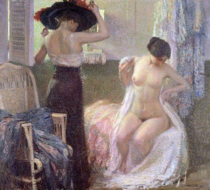 Arturo Noci - Nella Cabina 1911