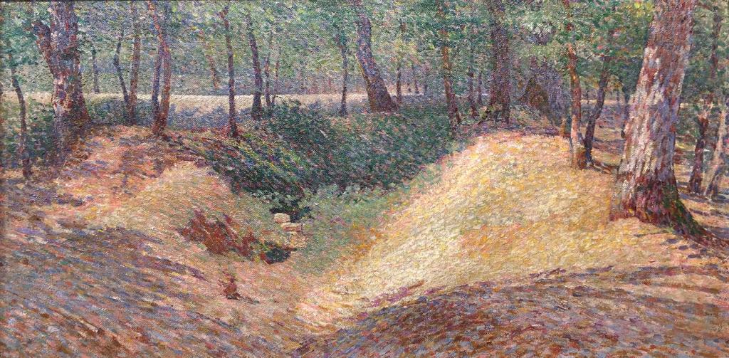 Fausto Vagnetti Nel bosco anghiarese