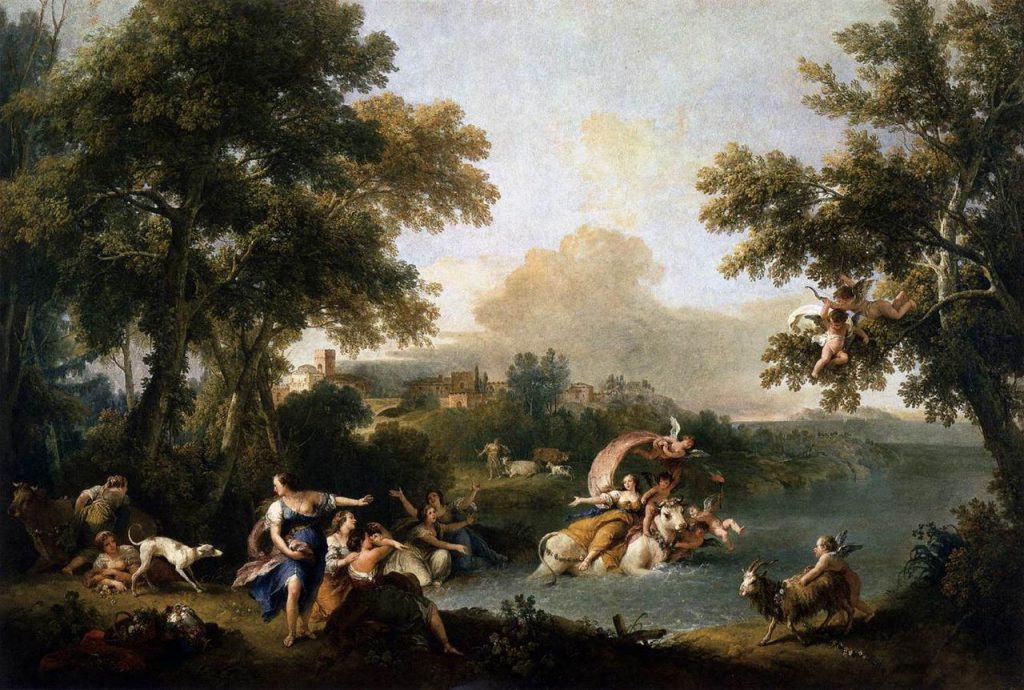 Francesco Zuccarelli The Rape of Europa