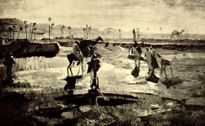 Giuseppe Amisani Delta del Nilo
