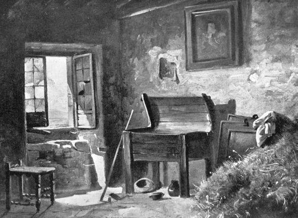 Luigi Bechi interno di cucina