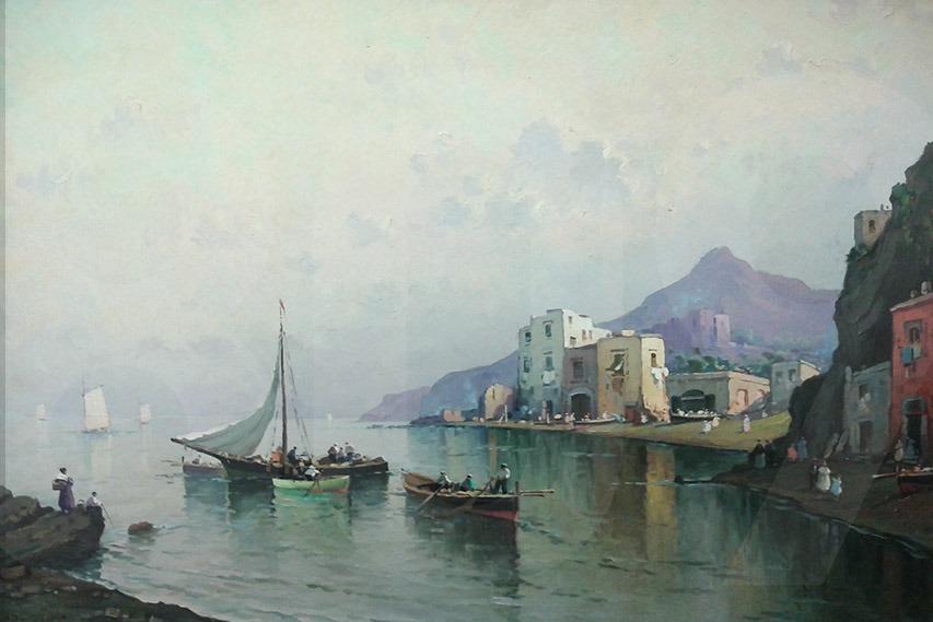 Nicolas De Corsi Marina con pescatori