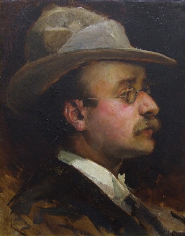 Pietro Aldi autoritratto