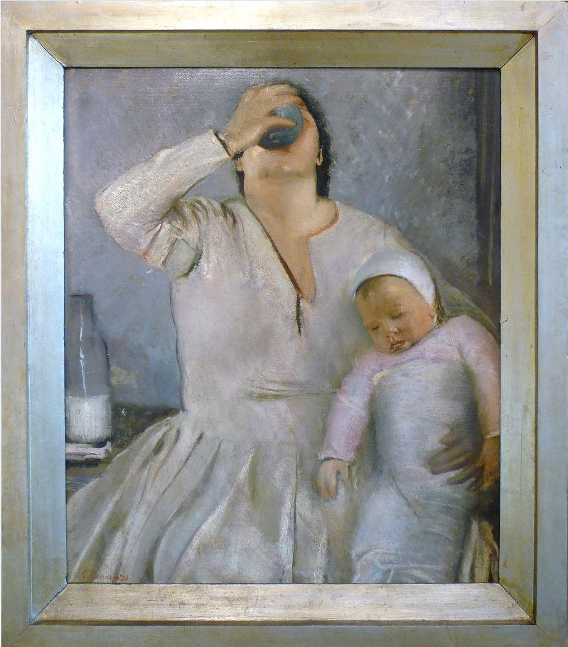 Mamma e bambino di Pietro Gaudenzi