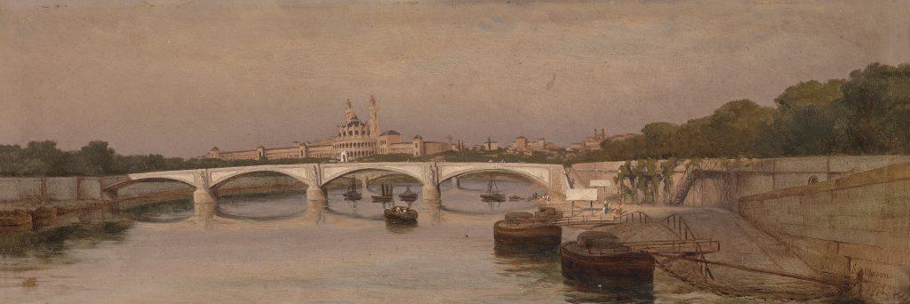 Silvio Allason Trocadero 1873
