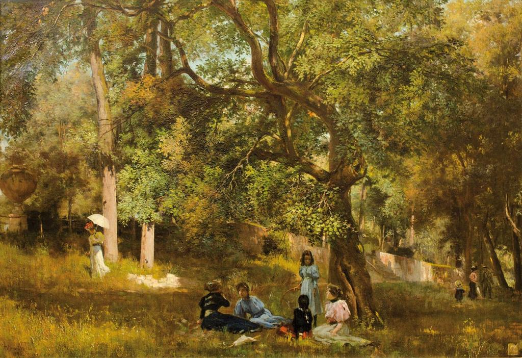 Arturo Noci - Villa Borghese