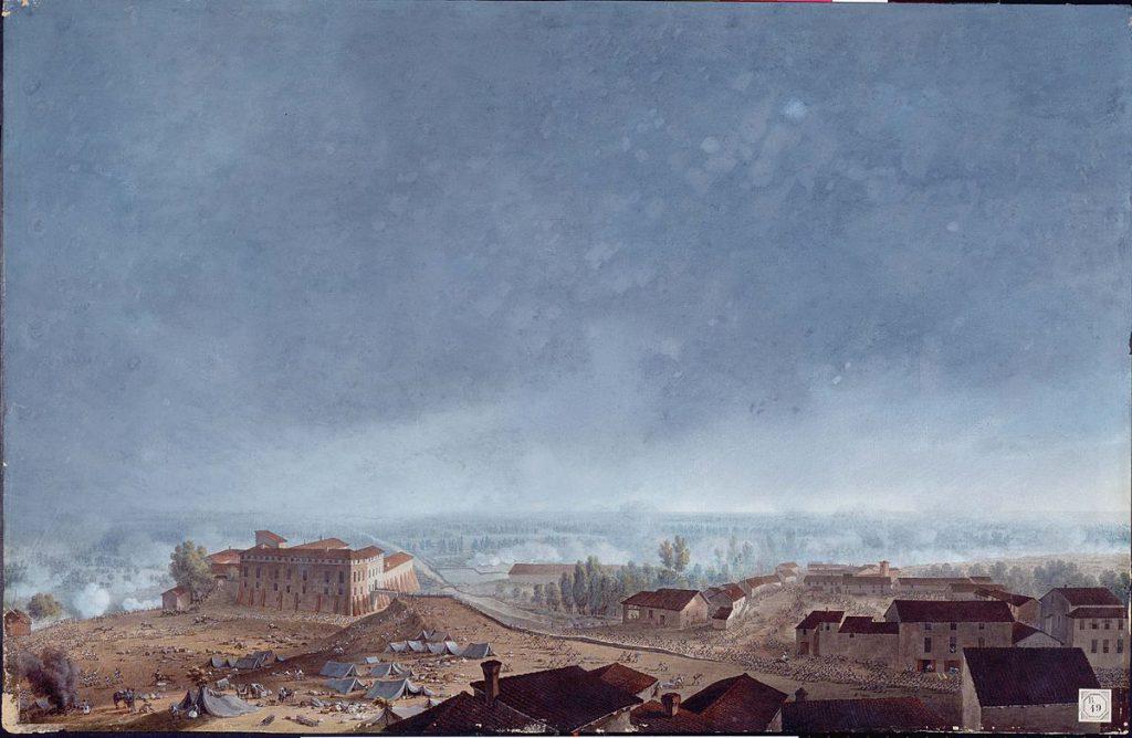 Giuseppe Pietro Bagetti Battaglia di Fombio
