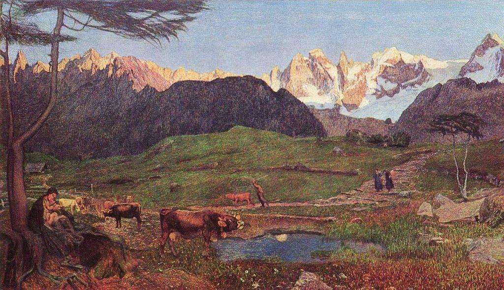 Giovanni Segantini Alpi