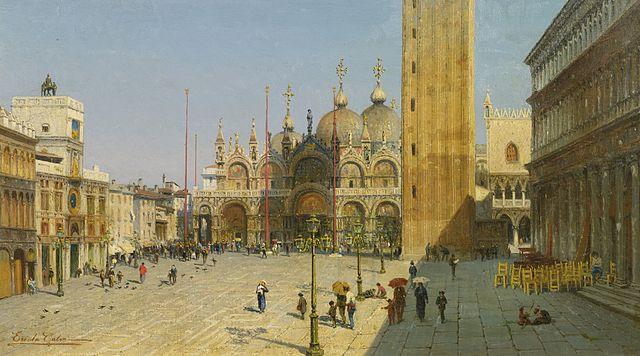 Ercole Calvi Piazza San Marco