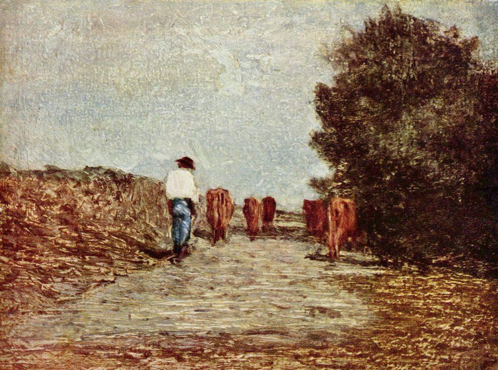 Antonio Fontanesi - Pascolo