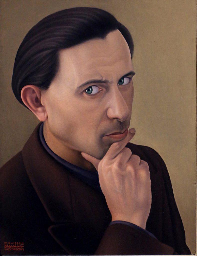 """Cagnaccio di san pietro - """"Autoritratto"""", 1938 Ca' Pesaro – Galleria Internazionale d'Arte Moderna, Venezia"""