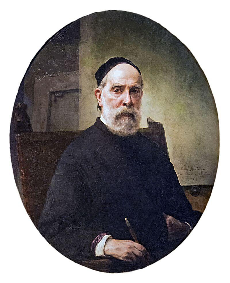 Francesco Hayez autoritratto