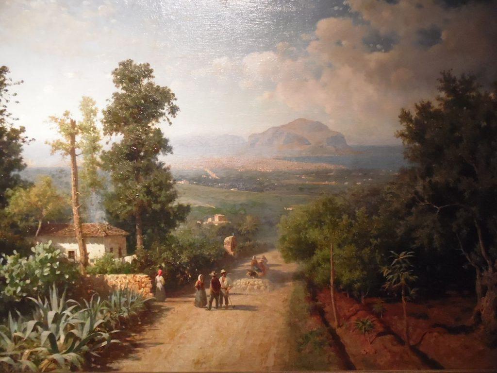 Francesco Lojacono Veduta di Palermo