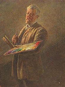 Gaetano Previati autoritratto