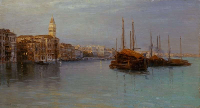 Guglielmo Ciardi Sera Canal Grande