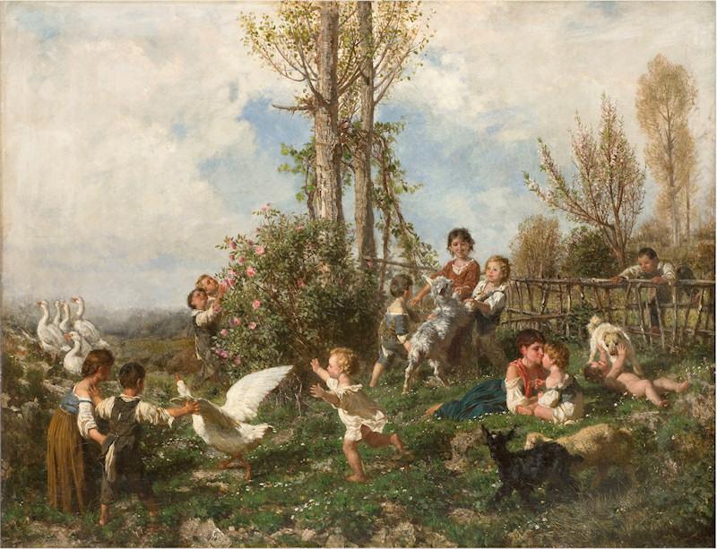 Palizzi Filippo La primavera