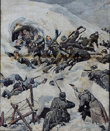Achille Beltrame La Grande Guerra