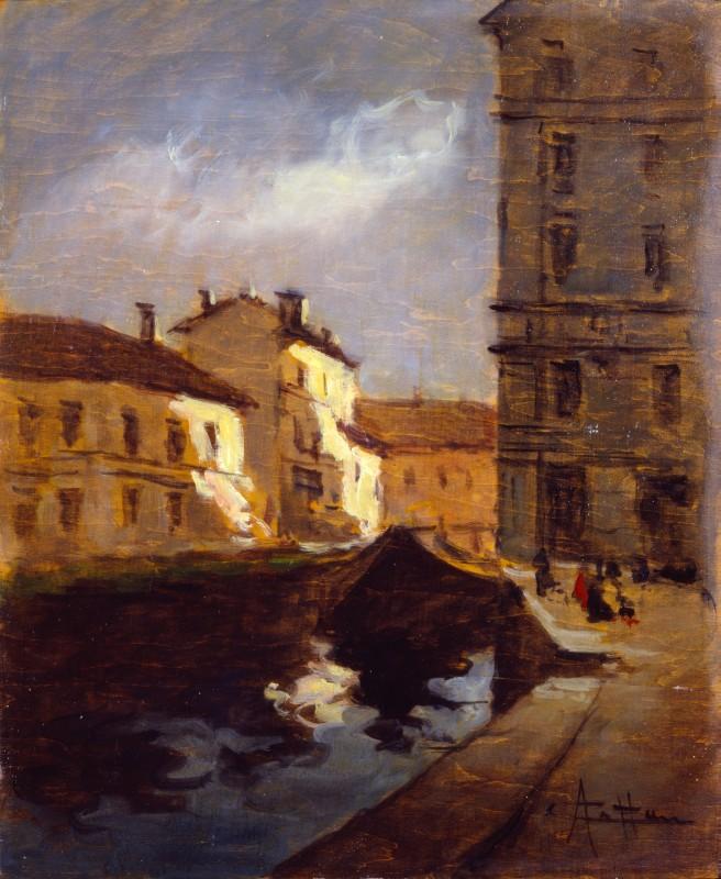 Achille Cattaneo Il tombone di San Marco
