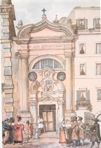 San Bartolomeo dei Bergamaschi in Piazza Colonna