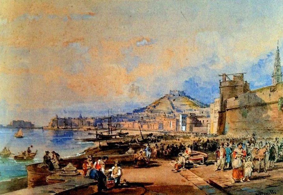 Achille Vianelli - Marinella e Castello del Carmine