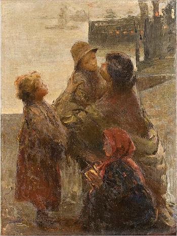 Adolfo Feragutti Visconti Ricordati della mamma