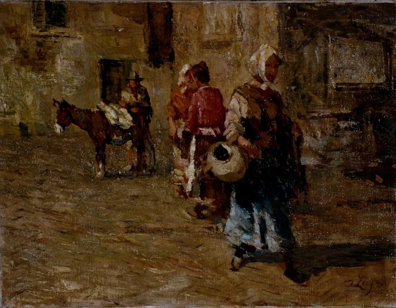 Alessandro Lupo Andando al mercato
