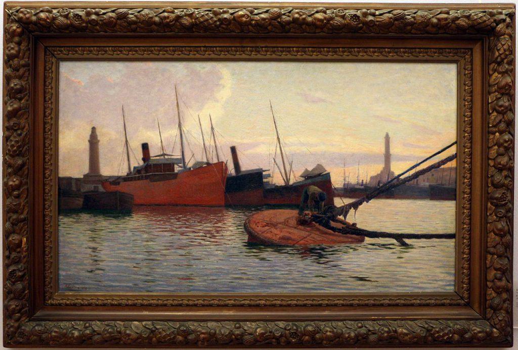 Alfredo luxoro - il porto