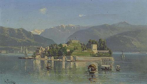 Ambrogio Preda - Isola Bella, Lago Maggiore
