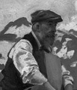 Ritratto di Ambrogio raffaele del 1911 realizzato da JOHN SINGER