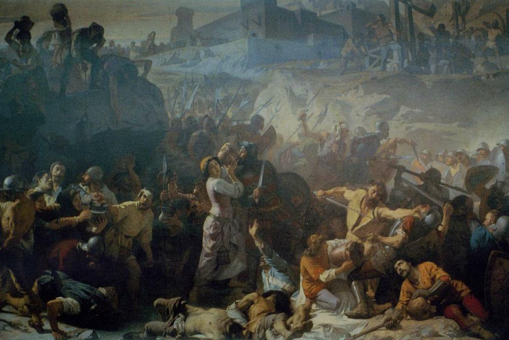 Andrea Gastaldi La costanza dei tortonesi 1860