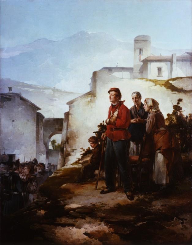 Angelo Trezzini - Il soldato ferito