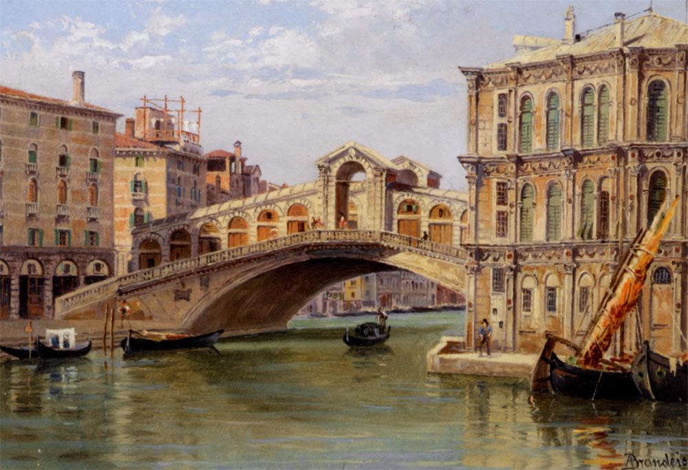 Antonietta Brandeis Il Ponte di Rialto