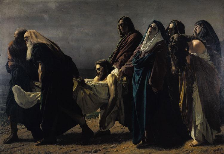 Antonio Ciseri Il trasporto di Cristo al sepolcro