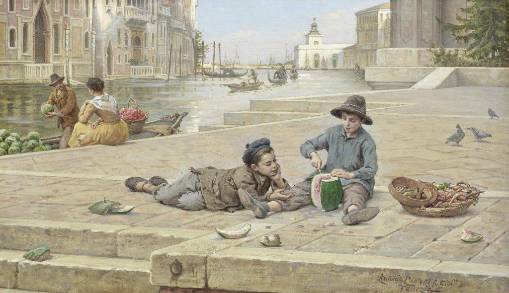 Antonio Ermolao Paoletti - Il venditore di meloni