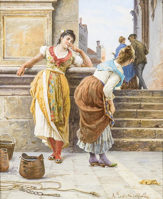 Antonio Ermolao Paoletti_chiacchiere a Venezia