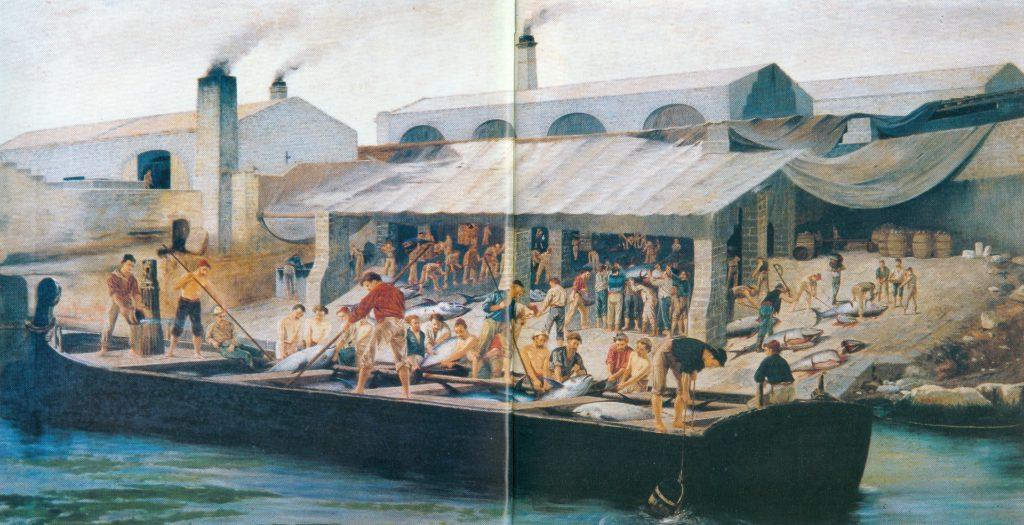 Antonio Varni La tonnara di Favignana