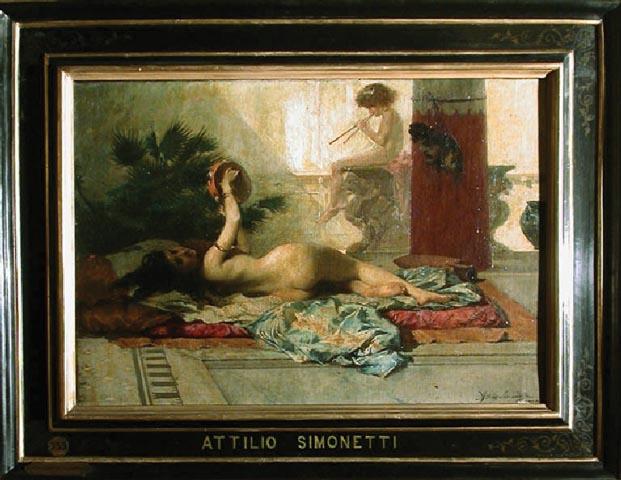 Attilio Simonetti attrice pompeiana