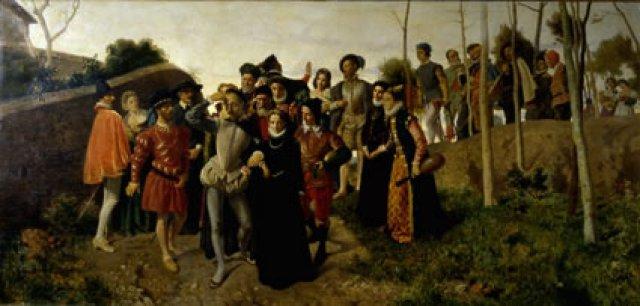 Bernardo Celentano Il Tasso infermo a Bisaccia
