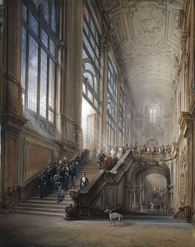 Carlo Bossoli Re Vittorio Emanuele II