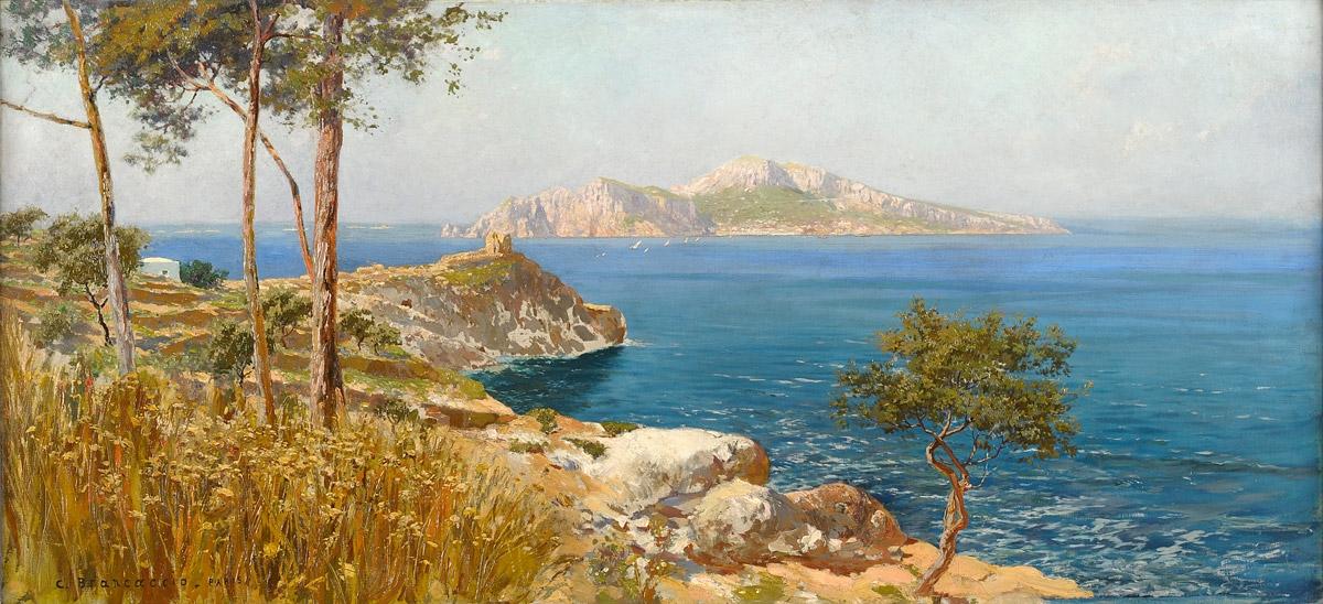 Carlo Brancaccio Vista di Capri