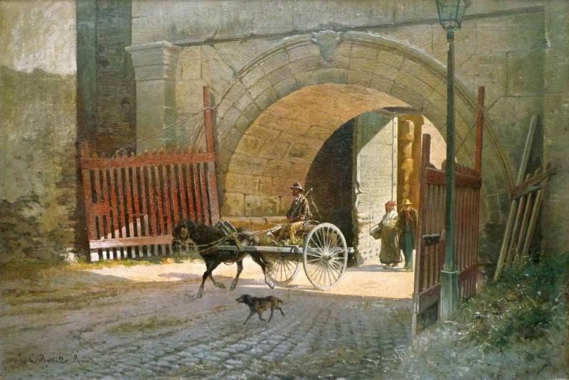 Cesare Bertolla porta san lorenzo
