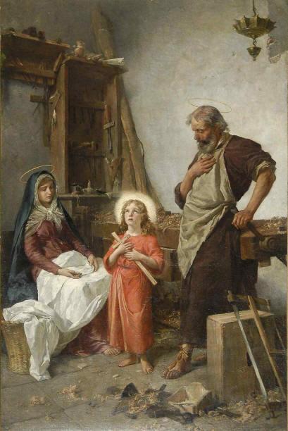 Cesare Mariani - Sacra Famiglia
