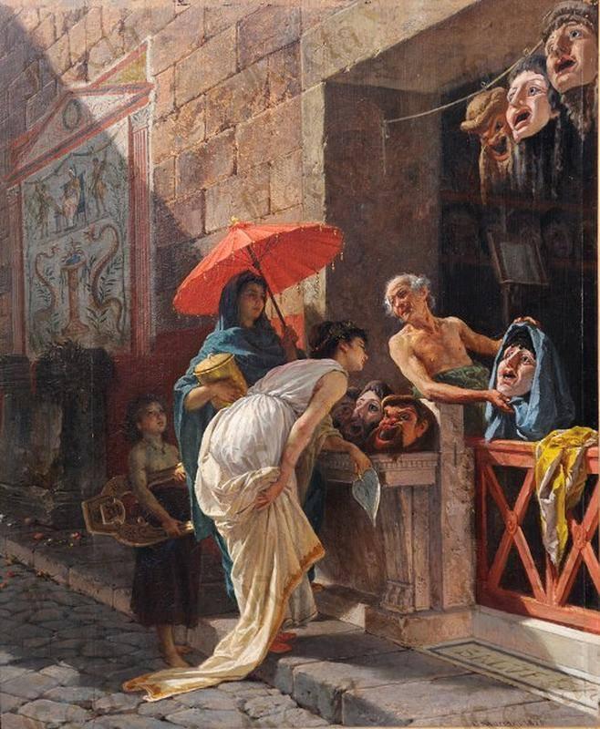 Cesare Mariani - Il venditore di maschere