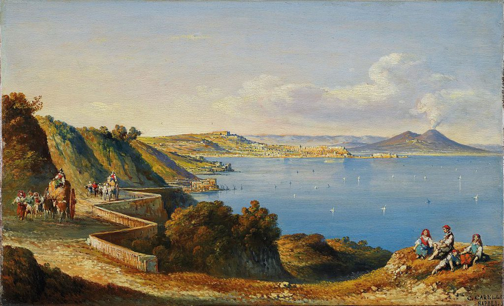 Consalvo Carelli Golfo di Napoli