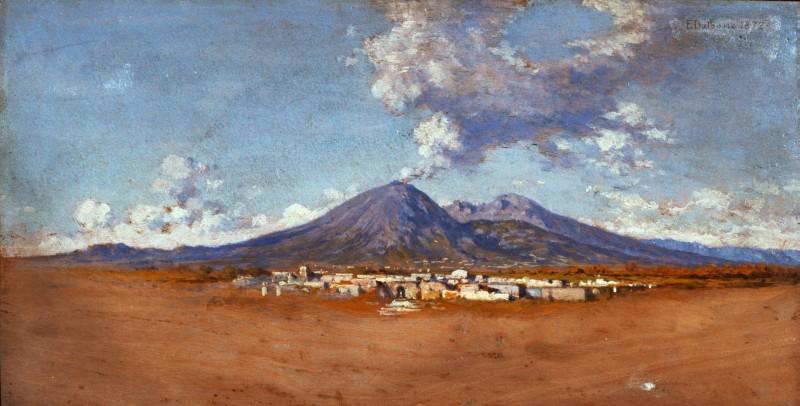 Edoardo Dalbono Il Vesuvio