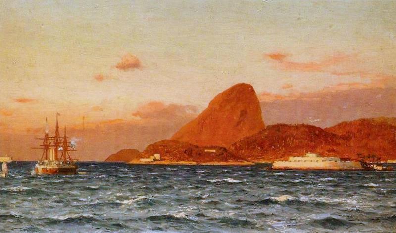 Eduardo de Martino Vista di Rio de Janeiro